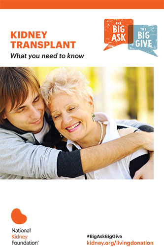 The Big Ask, The Big Give | National Kidney Foundation