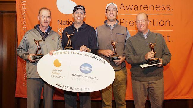 The team consisting of Curt Edwards; Jason Philips; Jason Chiklakis; and David Smith