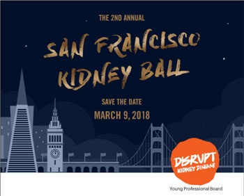 2nd Annual San Francisco Kidney Ball