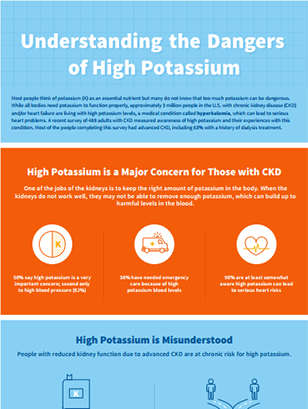 Understanding the Dangers of High Potassium: An educational Infographic