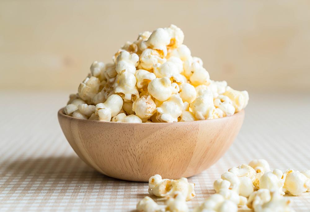 Garlic & Onion Popcorn Snack Mix