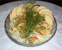 Crunchy Apple Fennel Salad