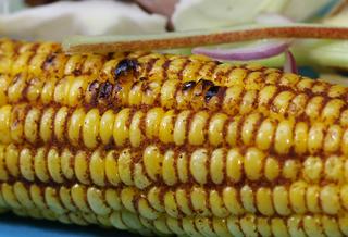 Spice Rubbed Corn