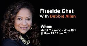 Fireside Chat with Debbie Allen, March 11
