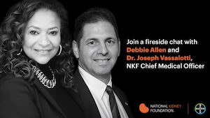 Join a fireside chat with Debbie Allen and Dr. Joseph Vassalotti