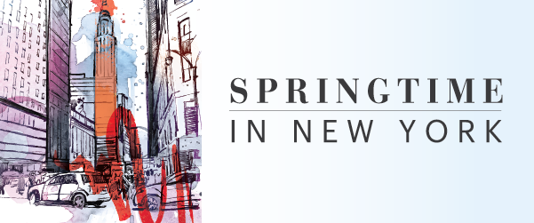 Spring Time in New York
