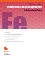 Cover of the Issues in iron management in the hemodialysis patient