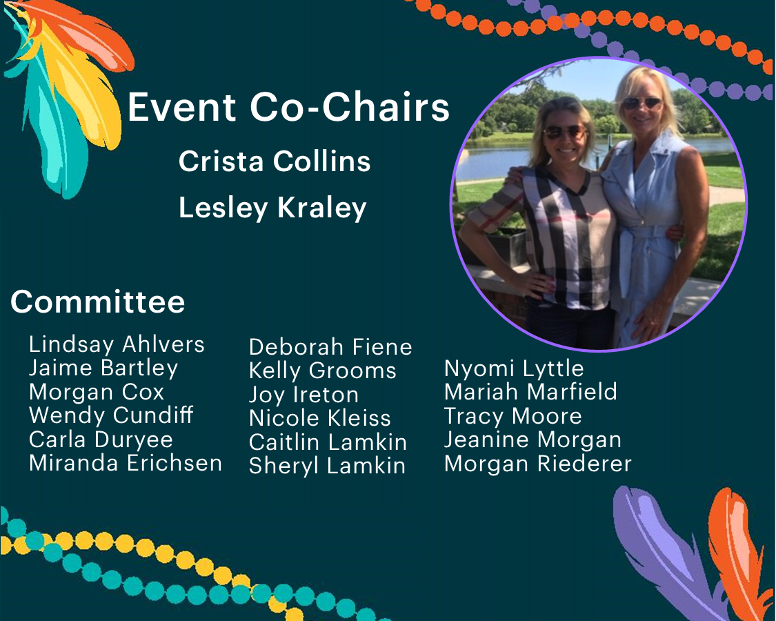 Lesley Kraly, Crista Collins and Committee