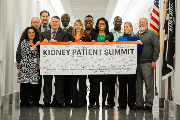 Nearly 150 Advocates From Six Kidney Organizations Around The Country Will Converge On Capitol Hill March 6 7 2017 To Meet Personally With Lawmakers And Put A Human Face On Kidney Disease During The 4th Annual Kidney Patient Summit