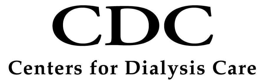 Centers for Dialysis Care logo, in black