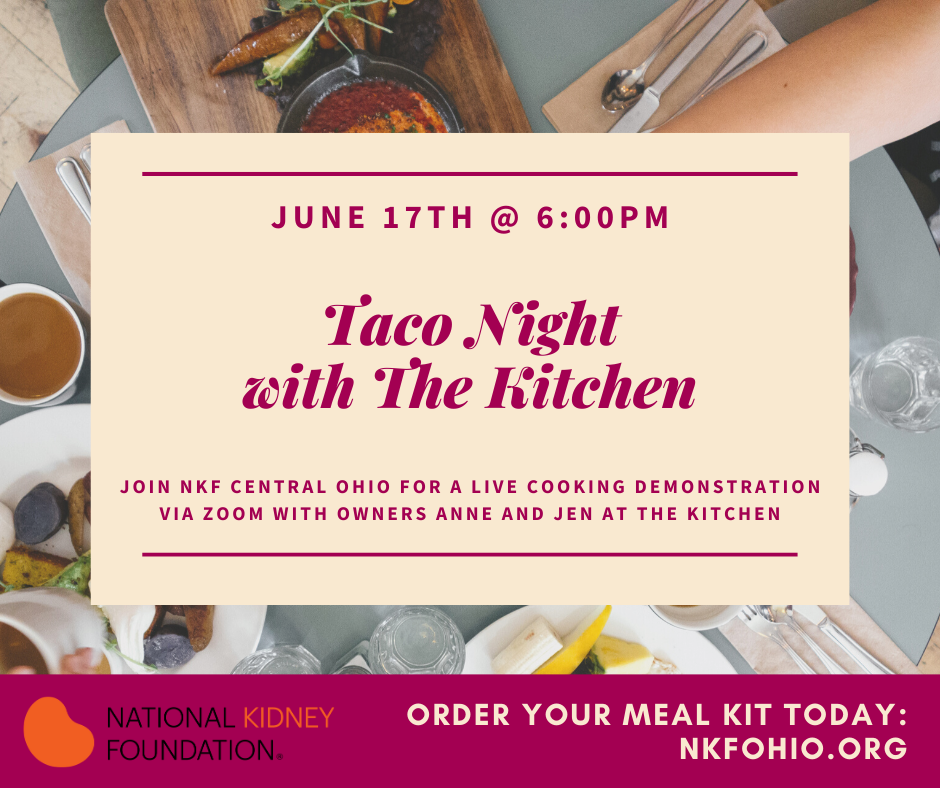 Taco Night with the Kitchen - June 17th