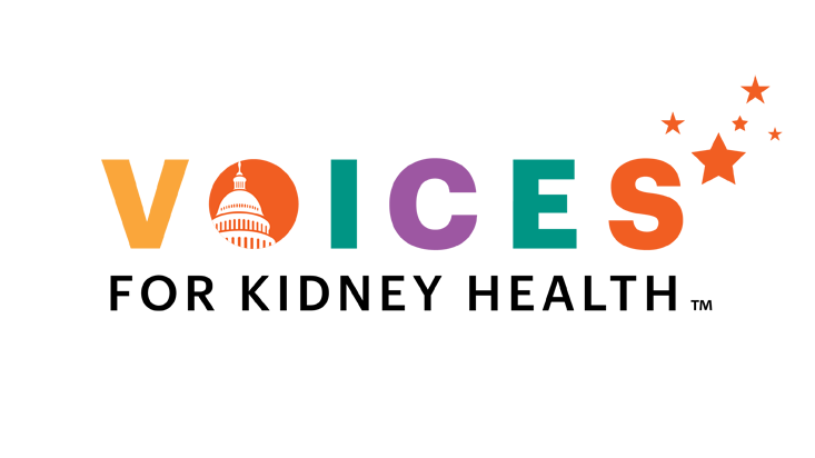 Voices for Kidney Health Logo